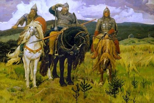 Былина о русских богатырях ЧЕГО В БОЮ НАДОБНО