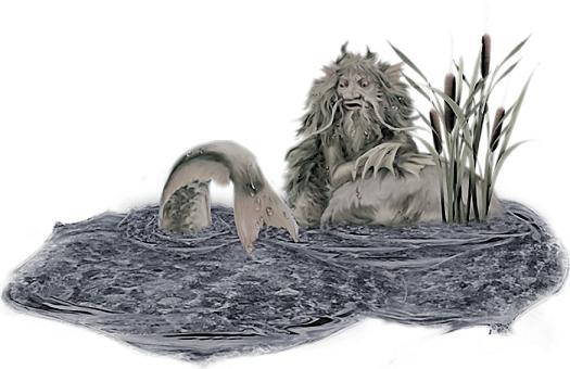 Водяной ОПИСАНИЕ герой славянского фольклора