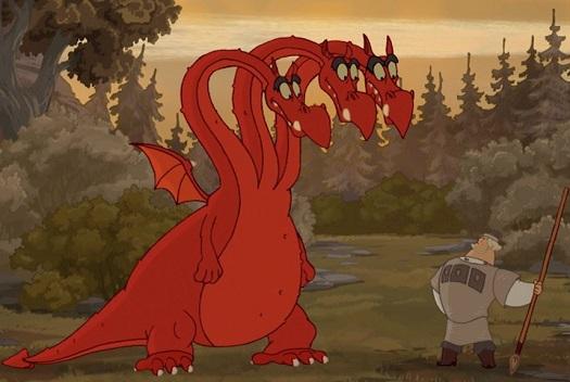 Змей Горыныч Описание сказочного героя