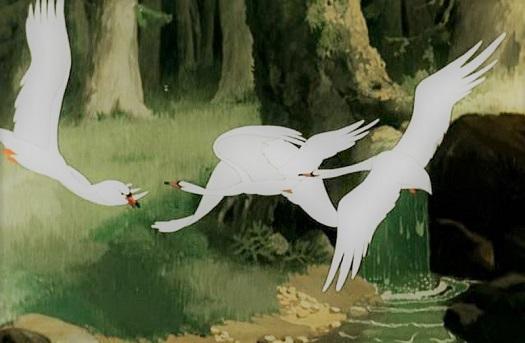 Гуси Лебеди русская народная сказка ЧИТАТЬ про Бабу Ягу