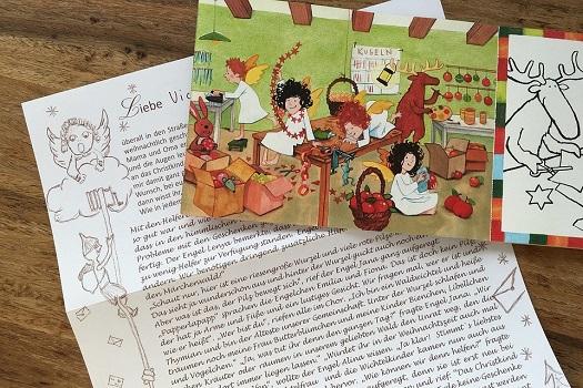 Письмо Тани к Деду Морозу Новогодняя СКАЗКА