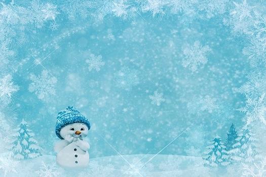 снеговик помощник