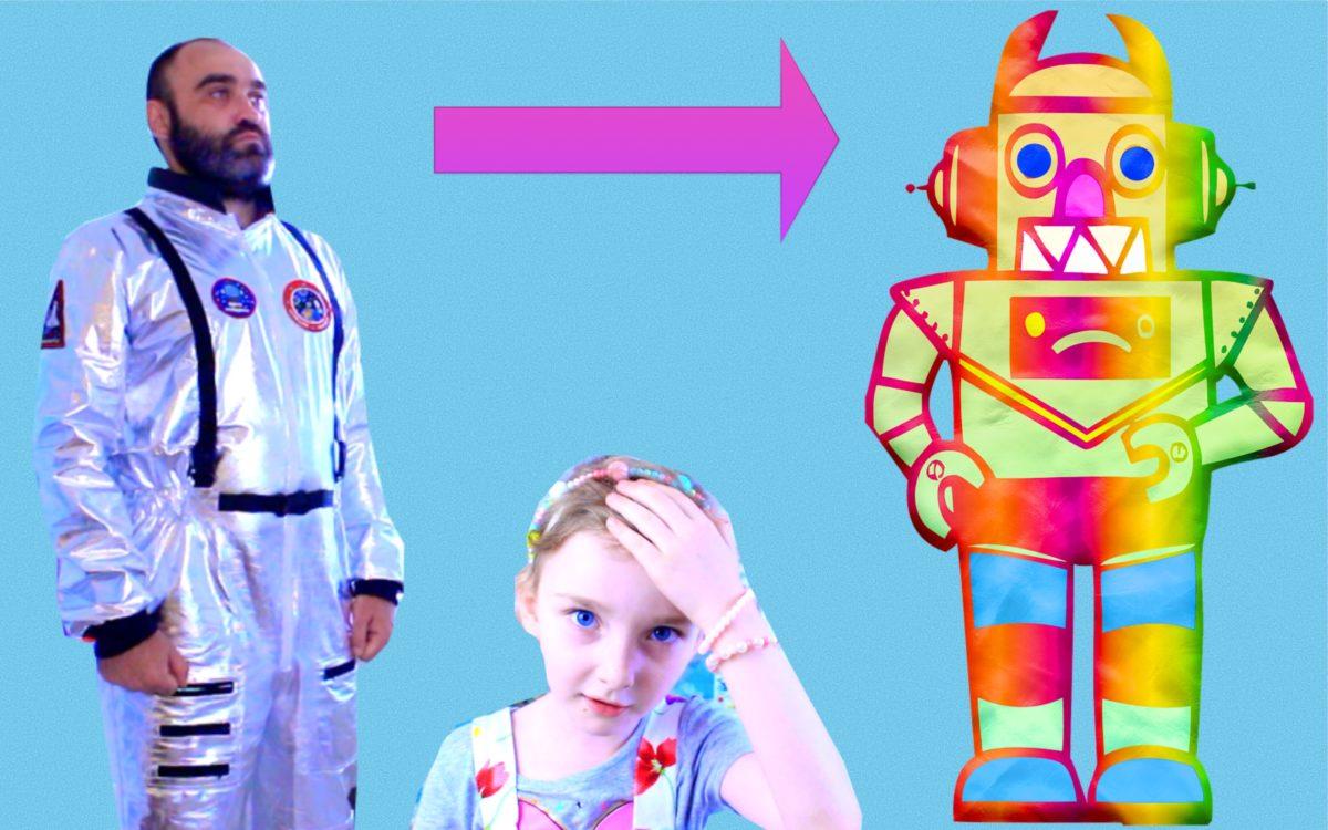Сказка про робота ПАПА — робот